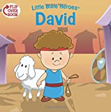 David/Esther Flip-Over Book (Little Bible Heroes™)