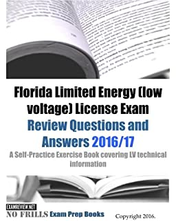 Florida business law contractor license exam examfocus study notes florida limited energy low voltage license exam review questions and answers 201617 fandeluxe Choice Image