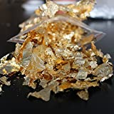 A famous Chinese gold factory supply, 20g Imitation gold Flake leaf gilding copper leaf in good quality ,