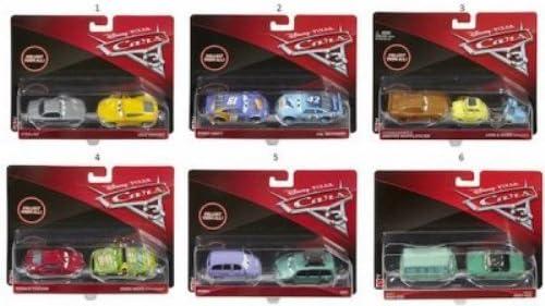 Cars- Set de 2 Coches (Mattel DXV99): Amazon.es: Juguetes y juegos