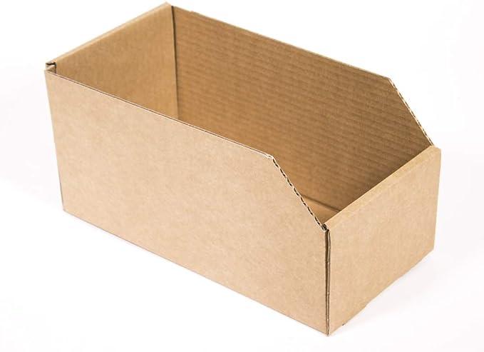 Kartox   Caja de Almacenaje de Cartón Abierta. Gaveta   10 Unidades   Talla S: Amazon.es: Oficina y papelería