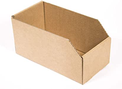 Kartox | Caja de Almacenaje de Cartón Abierta. Gaveta | 10 Unidades | Talla S: Amazon.es: Oficina y papelería