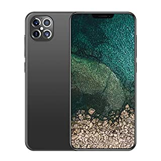 Mobile Phone, i12pro Android 10.0, 5G Smartphone SIM Free Phones Unlocked, 6.6 inch Dewdrop Full Screen, 5000mAh Big Battery Fast Charge,12GB+512GB, Fingerprint, Face ID