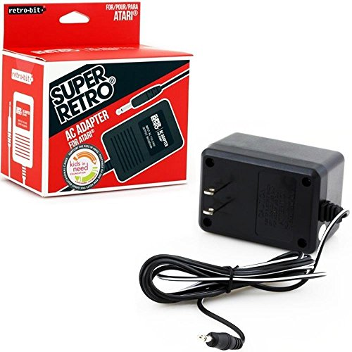 Video Game Accessories NEW AC POWER SUPPLY ADAPTER PLUG CORD FOR THE ATARI 2600 SYSTEM CONSOLE ()