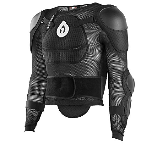 SIXSIXONE Protektorenjacke Comp Pressure Suit, Black, M, Jugend, 6991-05-500