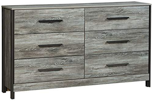 (Signature Design by Ashley B227-31 Cazenfeld Dressers, Black/Gray)