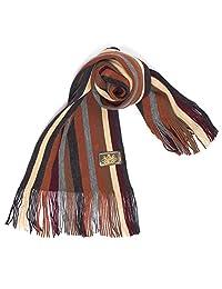 Rio Terra Men's Knit Winter Scarf - Sunset