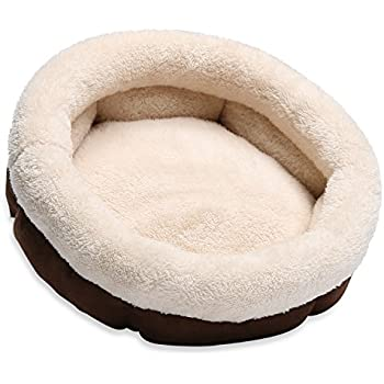 Amazon.com : JEMA Round Pet Bed for Cats & Small Dogs