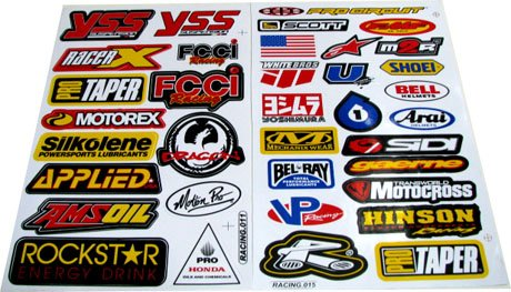 Red Bull Stickers Amazoncom - Red bull motorcycle custom stickers