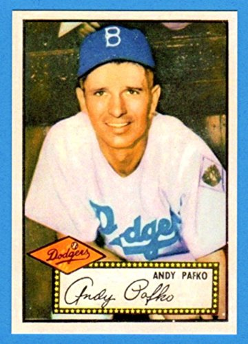 1952 Topps Reprint - Andy Pafko 1952 Topps Baseball Reprint Card (Dodgers)