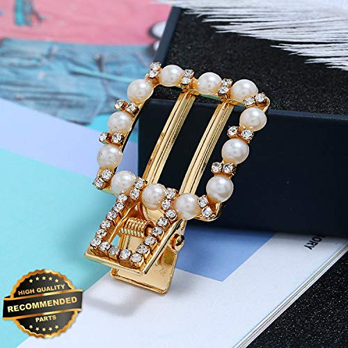 (Gatton Premium New Fashion Girl Pearl Gold Hairpin Barrette Hair Pin Clip Women Hair Accessories | Style HRCL-M182012908)