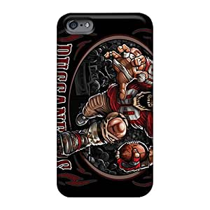 Anti-Scratch Cell-phone Hard Covers For Apple Iphone 6 Plus (wNi857mpNt) Unique Design Trendy Tampa Bay Buccaneers Pattern