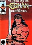 Conan the Destroyer (1985 series) #1