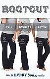 PajamaJeans Women's Petite Bootcut Stretch Denim