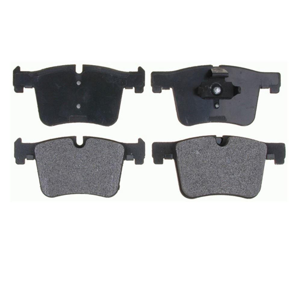Prime Choice Auto Parts SMK1561 Front Semi Metallic Brake Pad Set