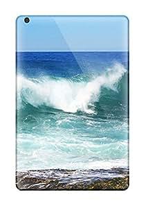 Hot New Fashion Premium Tpu Case Cover For Ipad Mini 3 - Sea Wave
