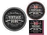 Vintage Dude 50th Birthday Party Supplies Bundle - 3 Items: Dinner Plates, Appetizer/Dessert Plates & Napkins