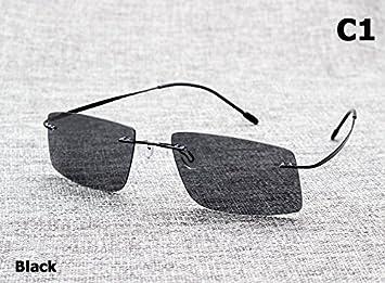 Aprigy The Matrix Style - Gafas de sol polarizadas para hombre, negro