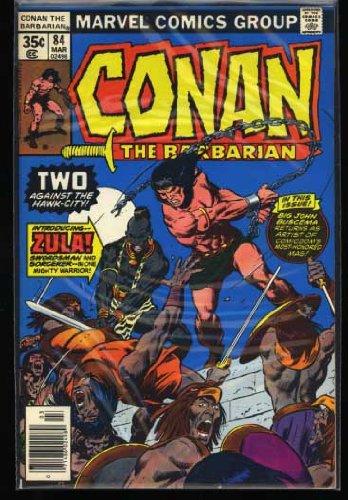 Conan the Barbarian # 84 Marvel Comics March 1978 Bronze Age Comic