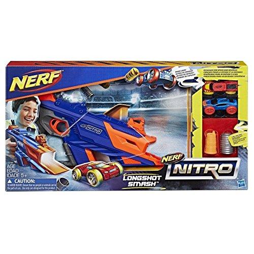 Nerf Juguete Lanzador Longshot Smash Nitro, Ref: C0784EU40 Hasbro