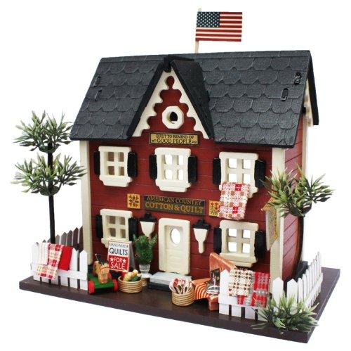 빌리 수제 인형 집 키트 우디 하우스 컬렉션 퀼트 샵 8812