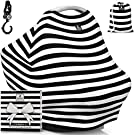 """Baby Car Seat Canopy & Multi-Use Nursing Cover - FREE GIFT BOX SET - """"The MagiCover"""" by Little Magic"""