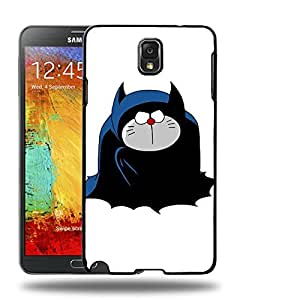 Case88 Designs Batman Doraemon Protective Snap-on Hard Back Case Cover for Samsung Galaxy Note 3