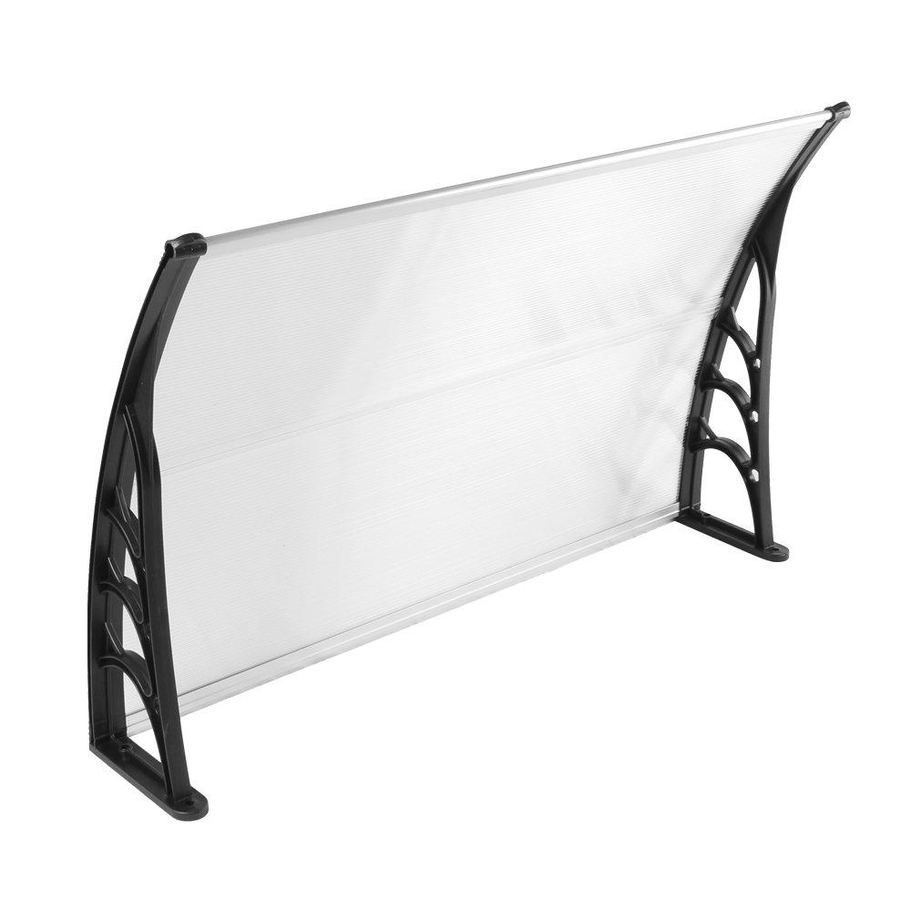 Nero SAILUN 120 x 76 cm Tenda da sole Ingresso Tettoia Tenda a baldacchino Tenda esterna