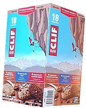 Clif Energy Bar Variety Pack – 18x68g