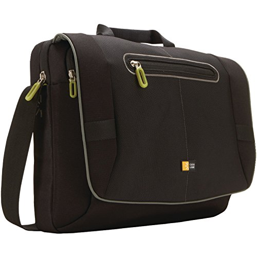 Price comparison product image Case Logic PNM-217 17-Inch Laptop Messenger Bag (Black)