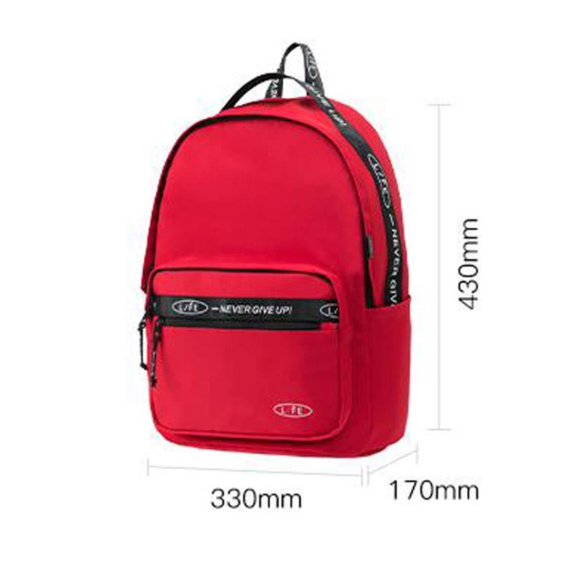 Nylon Fabric Computer Backpack Male and Female Student Bag ZHONGYUE Large-Capacity Backpack