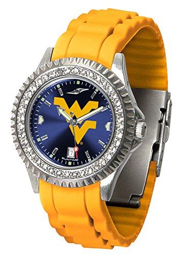 Linkswalker Ladies West Virginia Mountaineers Sparkle Watch