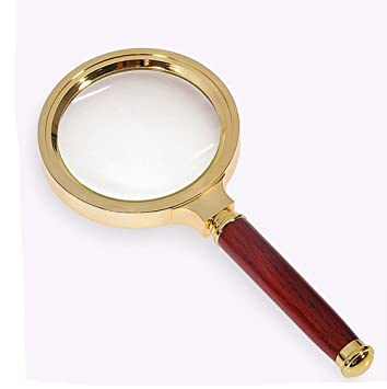 ff52f501148c Amazon.com : Folding Magnifying Glass Handheld Desktop Head With ...