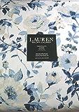 RALPH LAUREN Floral Tablecloths/Langdon Furl Blue/Light Sage 60 x 104 100% Cotton