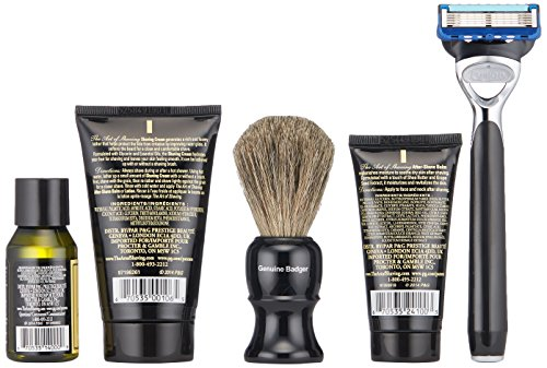 The Art of Shaving 5 Piece Travel Kit with Morris Park Razor, Unscented by The Art of Shaving (Image #4)