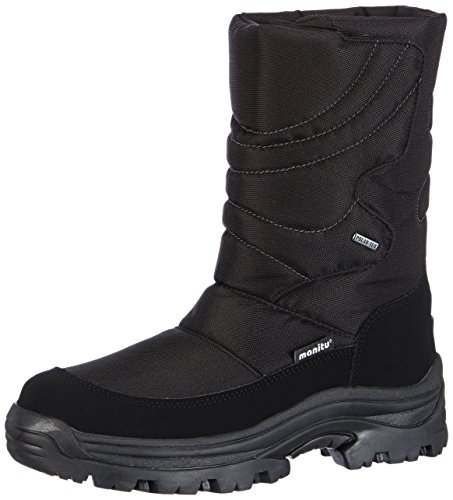 Black Shtifelya Boots Girls' Snow Synthetik Textil Polartex Winter Polartex Misters Manitu FS4vqt