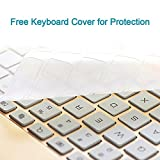 ElementDigital-iPad-Pro-105-Bluetooth-Keyboard-Case-Hard-Shell-Wireless-Adjustable-Viewing-Angle-78-ABS-Keys-with-LED-Backlit-Free-Keyboard-Cover-for-iPad-Pro-105-Tablet-iOS-Android-Gold