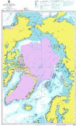 Ba Diagramm 4006  A Planung Diagramm für die Arktis Region von UNITED KINGDOM Hydrographic Büro