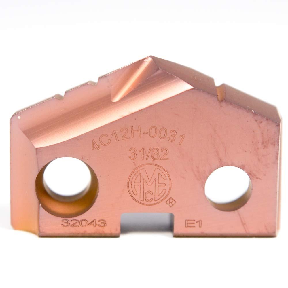 AMEC Carbide Spade Drill Insert 31/32'' #2 T-A AM200 4C12H-0031 (2 Pcs)