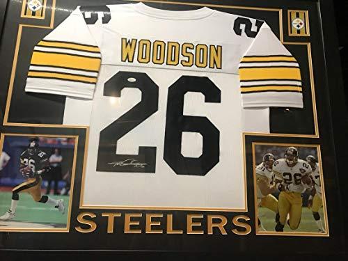 7fc848c21d9 Rod Woodson HOF Pittsburgh Steeler Framed Autographed Signed Jersey  Memorabilia - JSA Authentic. Rod Woodson Pittsburgh Steelers Memorabilia