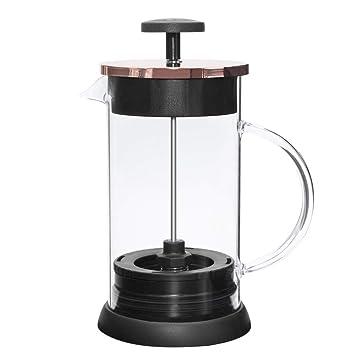 Frasco de acero inoxidable 1000 ml Prensa francesa Café expreso Percolador Estufa Cafetera superior: Amazon.es: Hogar
