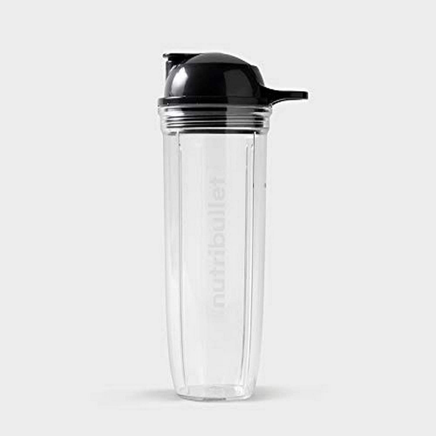 NutriBullet ANBC32 32 oz Cup with To-Go Lid, Clear/Black