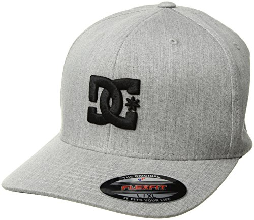 DC Men's Capstar TX Hat, Castlerock, L/XL