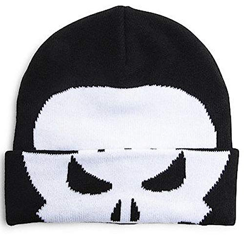 Marvel Flip Down Beanie Hat Cap (Punisher) ()