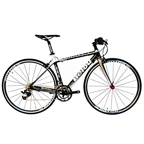 BEIOU 2016 Carbon Comfortable Bicycles 700C Road Bike