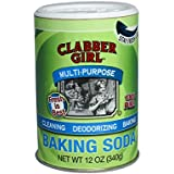 Clabber Girl Baking Soda - For Cooking, Baking, Cleaning, Laundry, Deodorizing and More, Shake or Pour Lid, Highest Purity Sodium Bicarbonate, Food Grade, Gluten Free, Vegan and Vegetarian