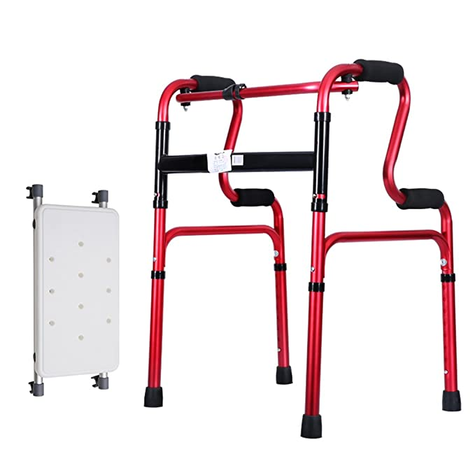 Walking Aid, Ligero 2.2kg Plegable Rollator Walking Fram Aid sin ...