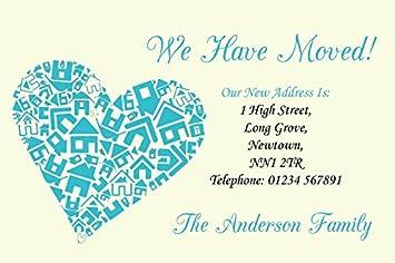 Change of address cards amazon