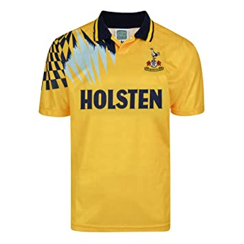 detailed look 222d5 83d1e Official Retro Tottenham Hotspur 1992 Away Retro Football ...