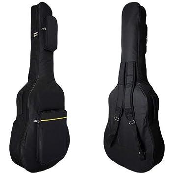 BHCW Bolsa De Guitarra De 40/41 Pulgadas 5 Mm De Funda Blanda De ...
